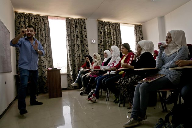 Refugee-Run School In Egypt Supports Syrians Who Have Fallen Behind, Been Bullied
