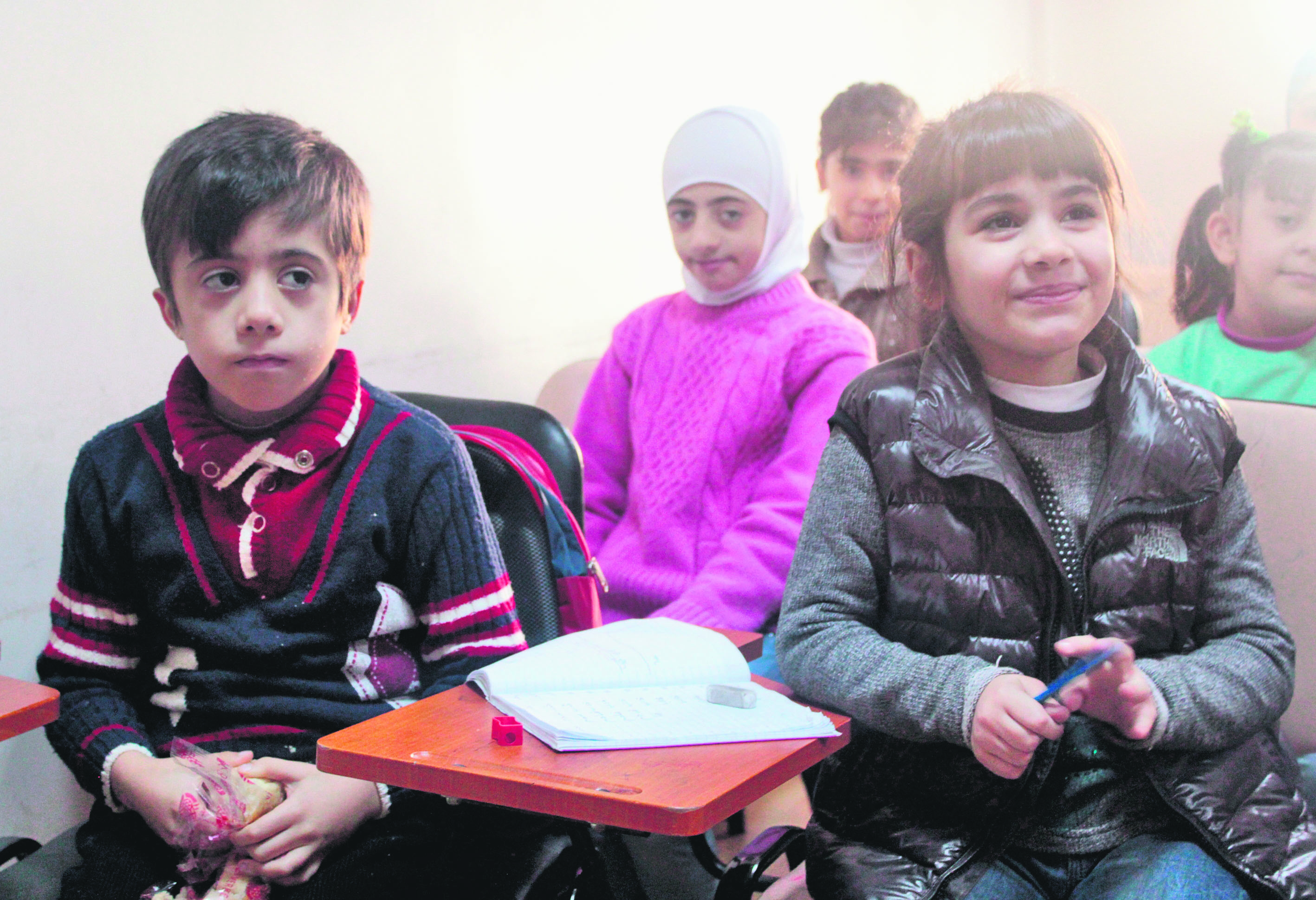 Foundation's school ensures the future of Syrian refugee children